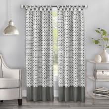 Callie Cuff Modern Tab Top Curtain - 054006260524