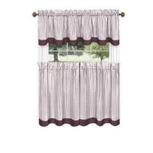 Westport Tier Curtain Set - 054006258958
