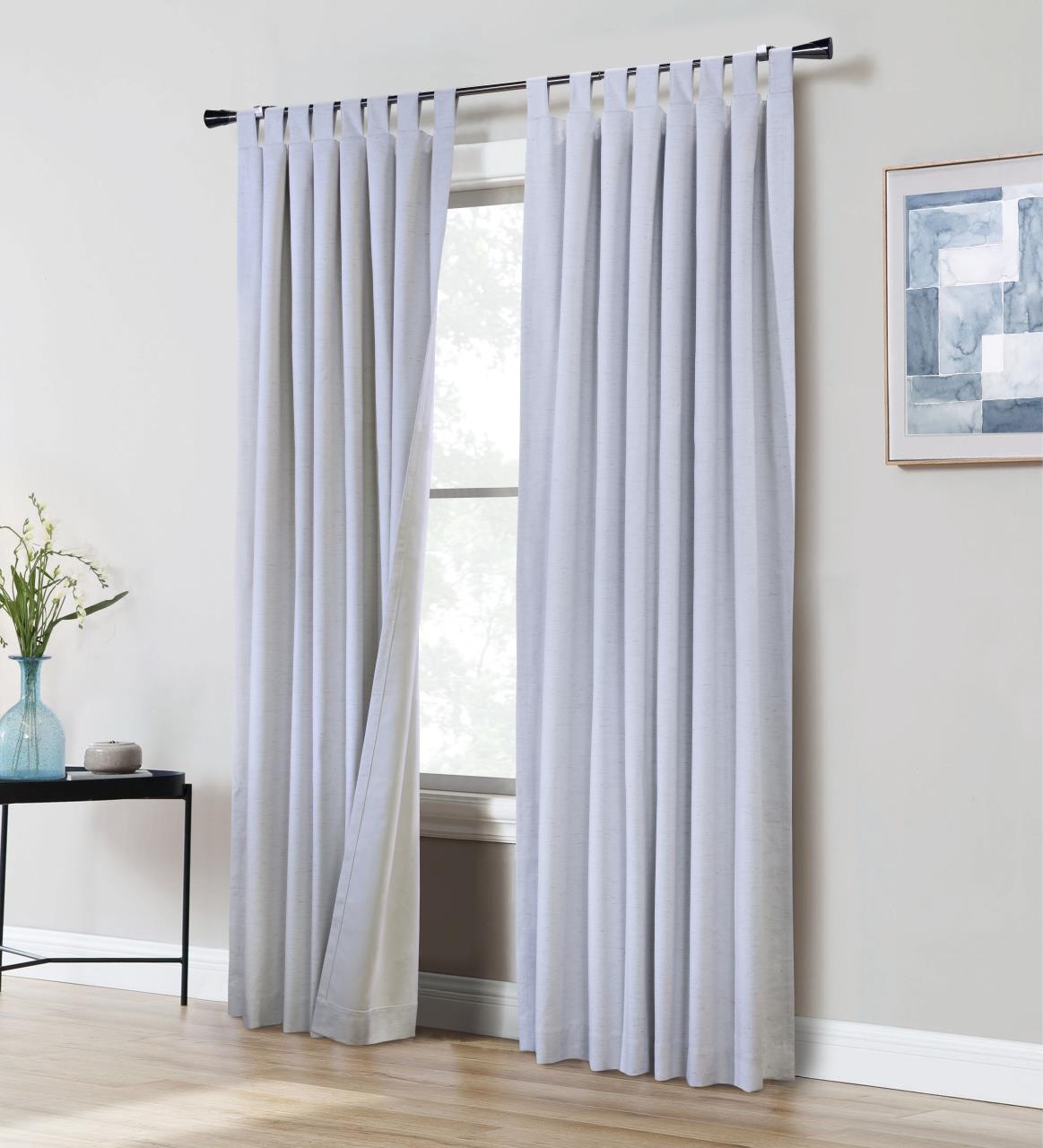Ventura Thermaplus Tab Top Blackout Curtain Pair - 695565391986