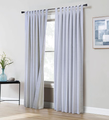 Ventura Thermaplus Tab Top Blackout Curtain Pair - 695565391986