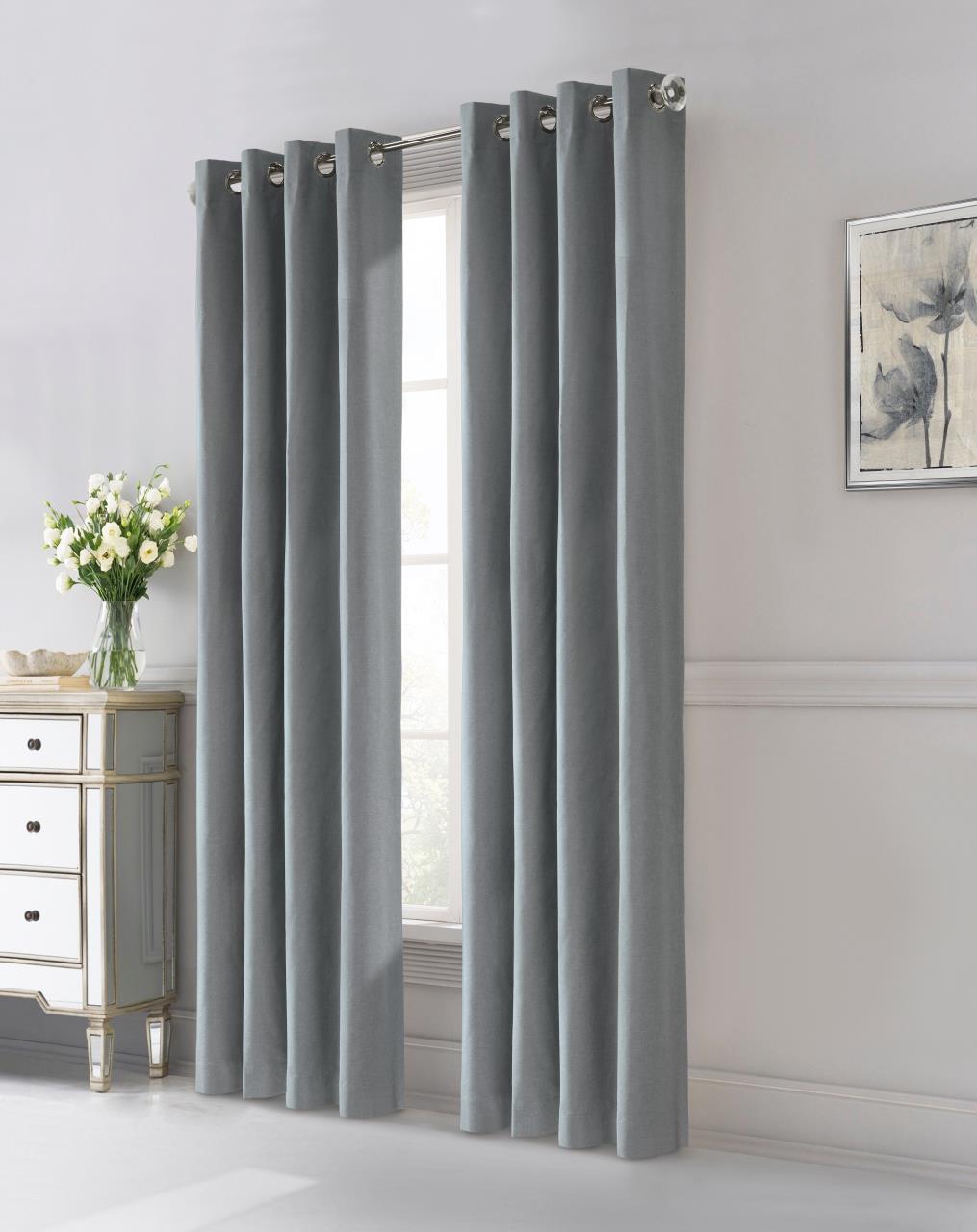 Edison Thermaplus Grommet Blackout Curtain - 695565731478