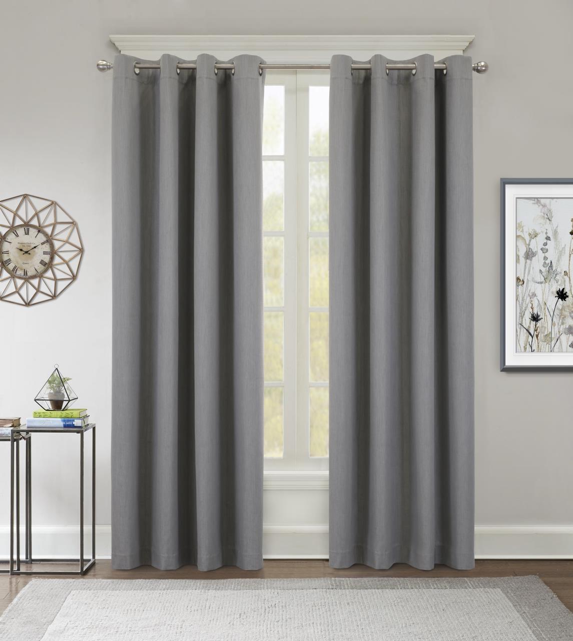 Kelly Thermaplus Grommet Blackout Curtain - 695565303248