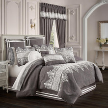 Flint Charcoal Comforter Collection -