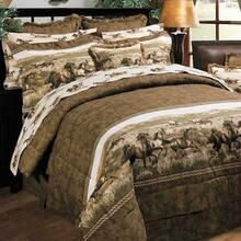 Wild Horses Bedding Collection -