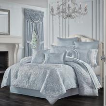 Malita Powder Blue Comforter Collection -