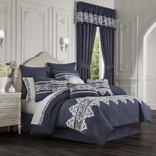 Shelburne Indigo Comforter Collection -