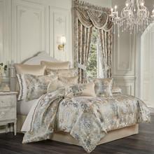 Jacqueline Teal Comforter Set - 193842117316