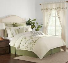 Gwyneth Embroidered Floral Comforter Collection -