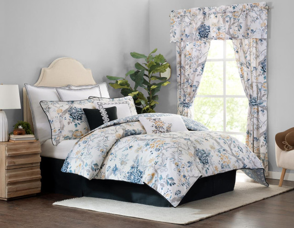 Sidney Floral Comforter Collection -