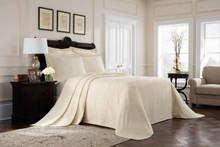 Richmond Ivory Matelasse Bedspread - 048975017869