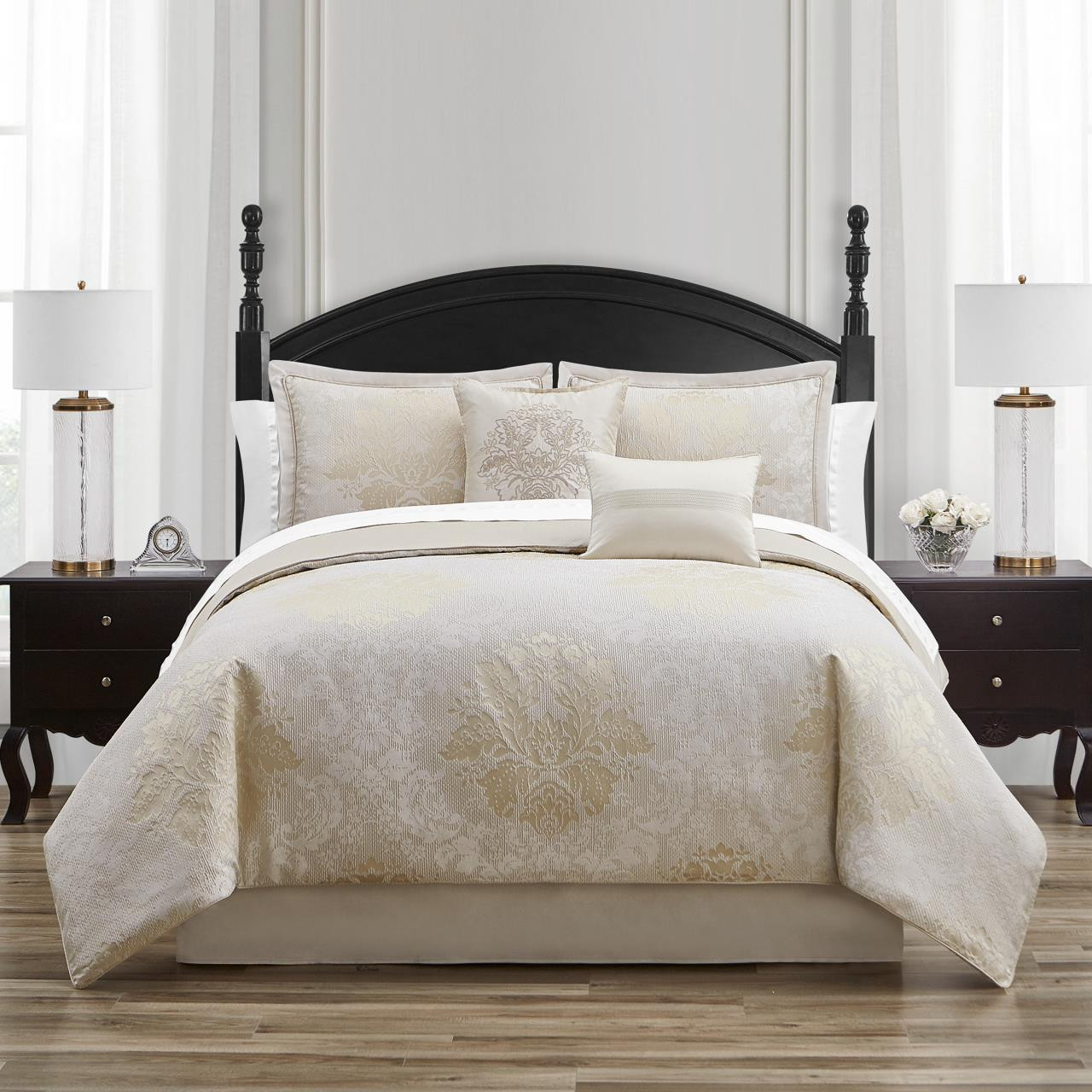 Ameline Ivory Comforter Collection -