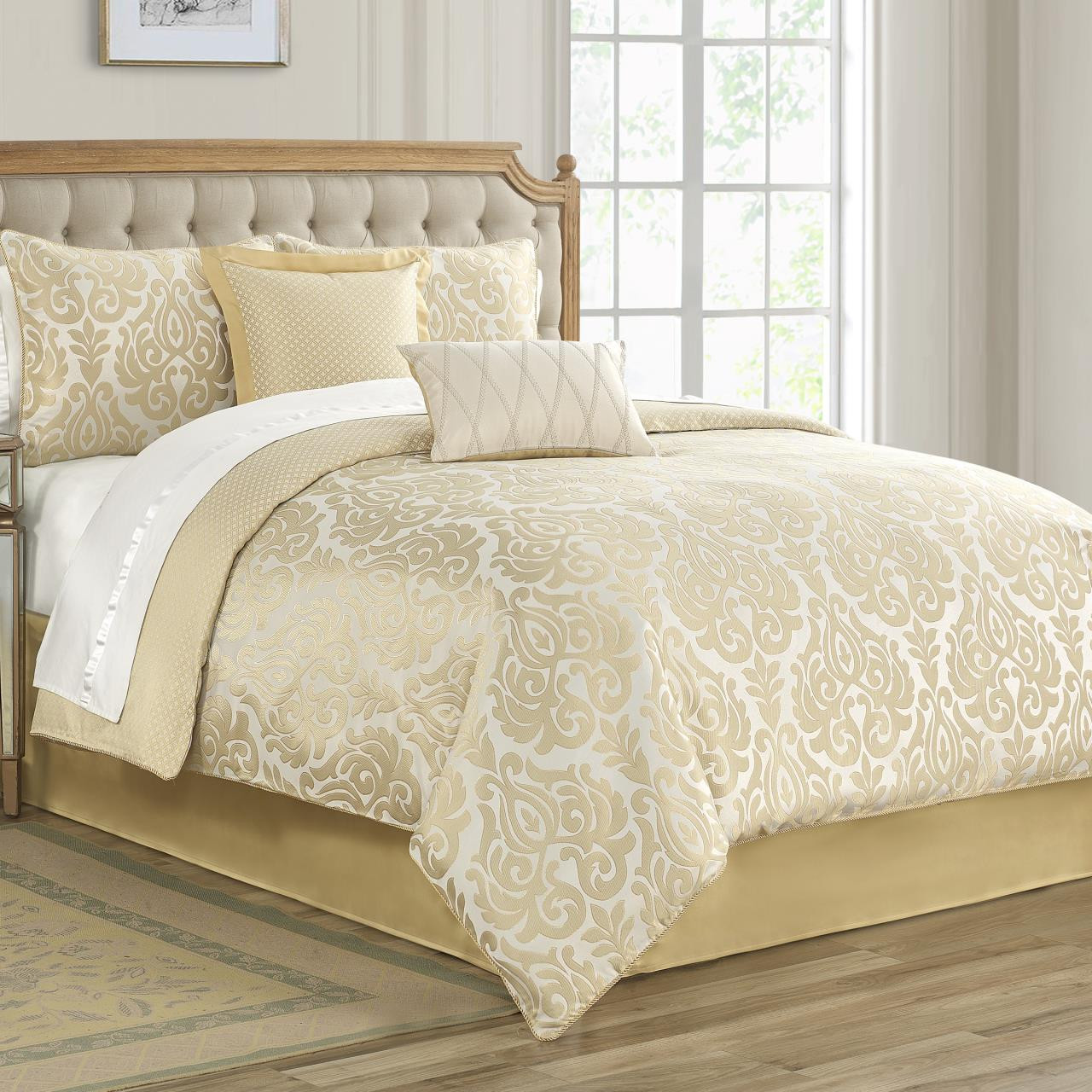 Bastia Gold Comforter Collection -