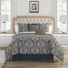 Bastia Navy Comforter Collection -