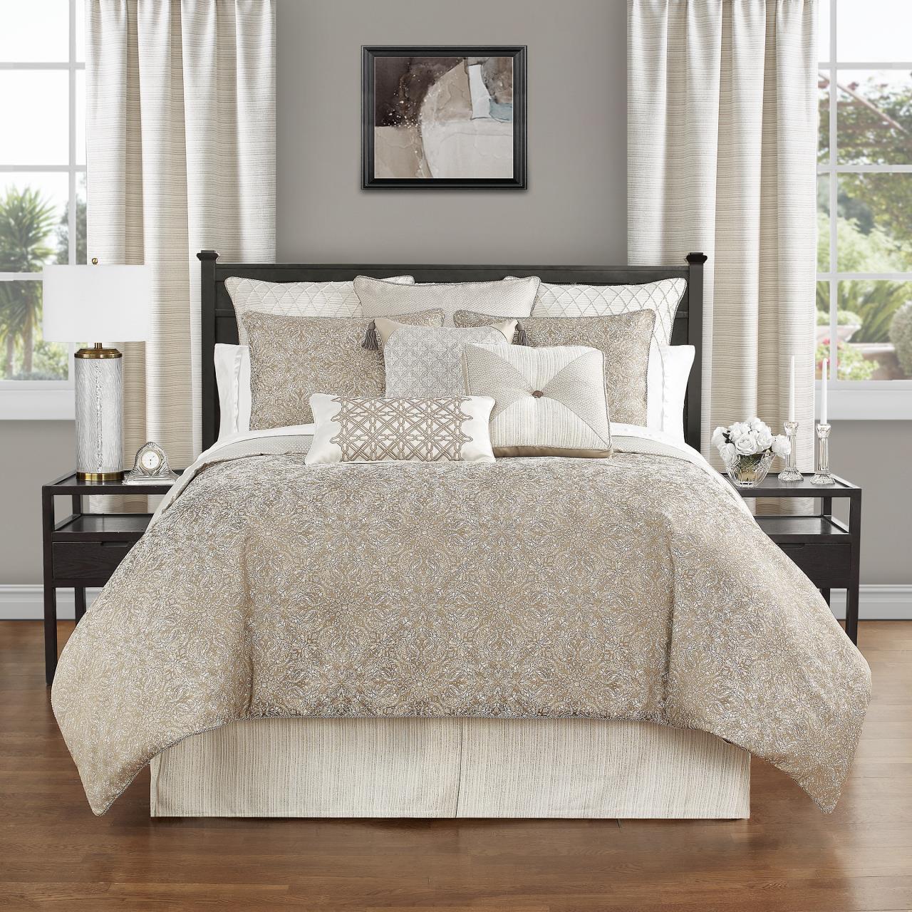 Spencer Mocha Comforter Collection -