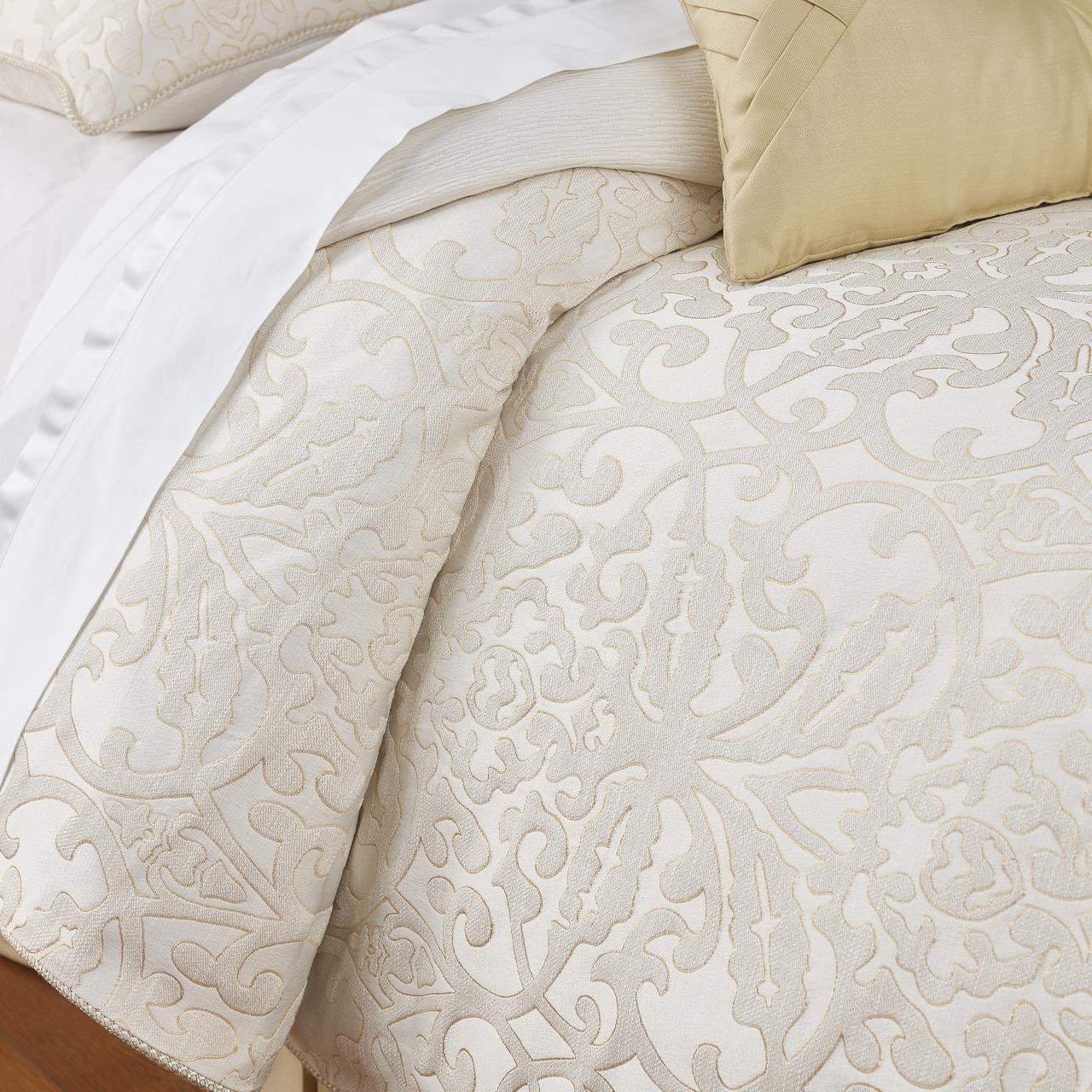 Valetta Ivory Comforter Collection -