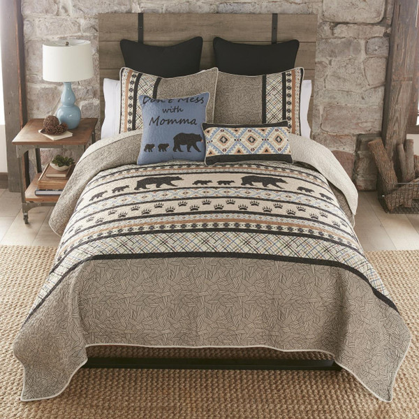 Momma Bear Quilt Collection -