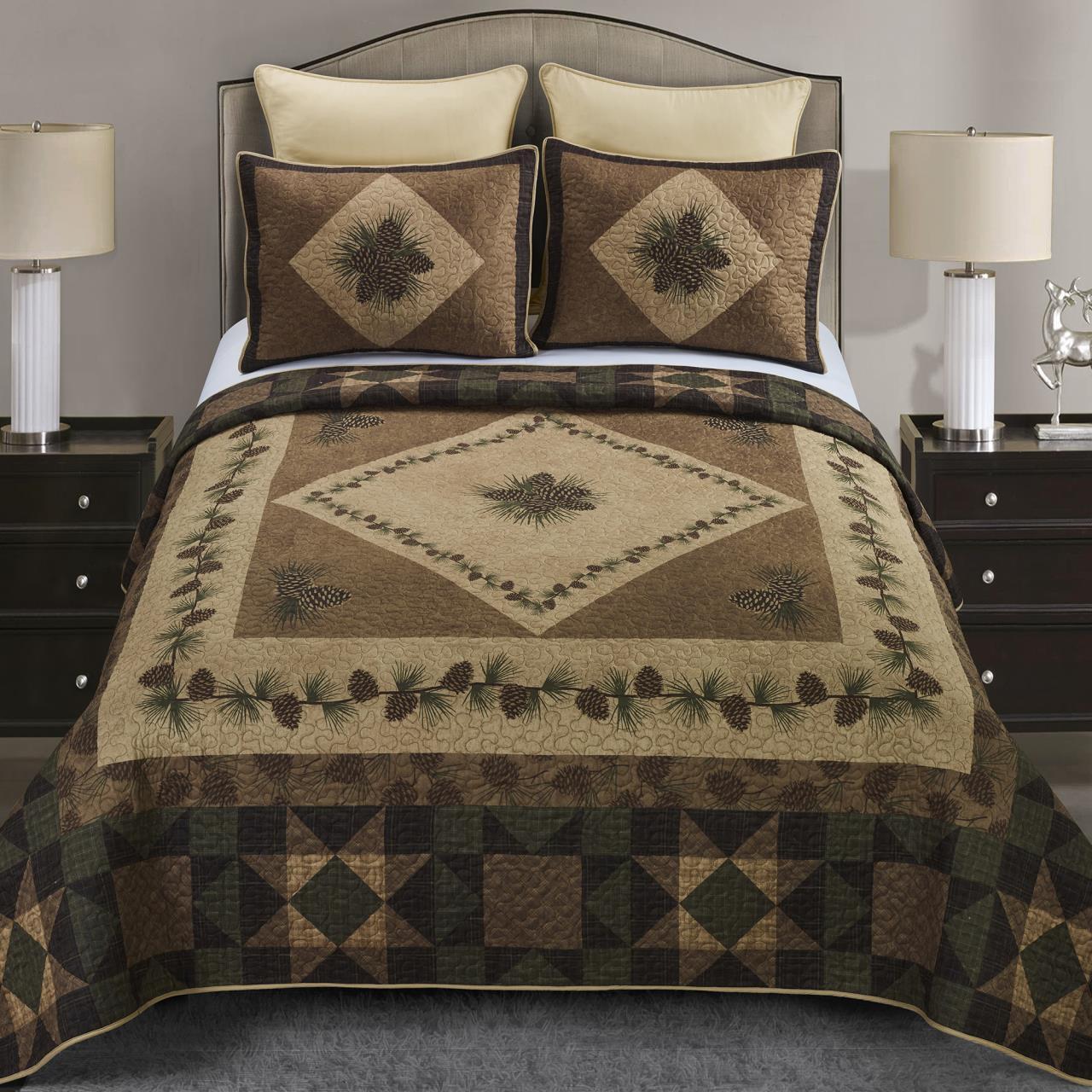 Antique Pine Quilt Collection -