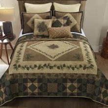 Antique Pine Quilt Set - 7.5407E+11