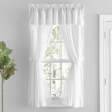 Simplicity Sheer Lace Curtains -