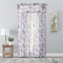 Whimsical Sheer Rod Pocket Curtain & Valance - 842249045257