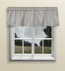 Grasscloth Insulated Solid Color Valance - 842249035920
