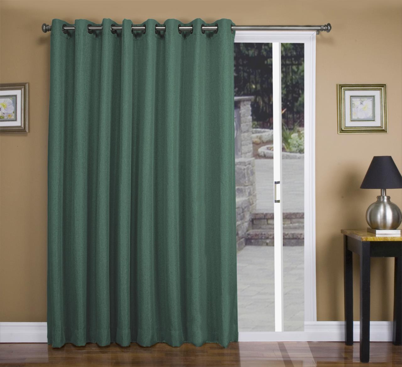 Tacoma Double Blackout Grommet Patio Curtain Panel - 842249034947