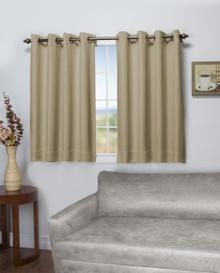 Tacoma Double Blackout Short Grommet Curtain Panel - 842249039171