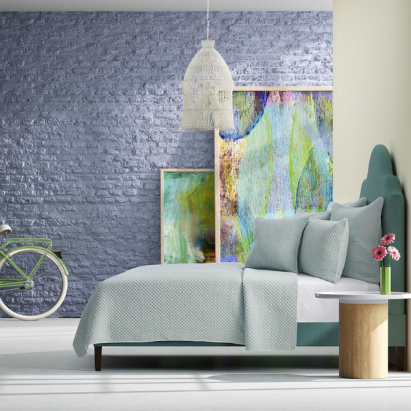 Emery Sea Foam Comforter Collection -