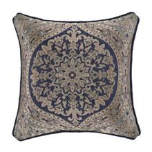"Botticelli Navy 18"" Square Pillow - 193842115534"