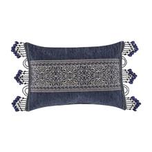Botticelli Navy Boudoir Pillow - 193842115565