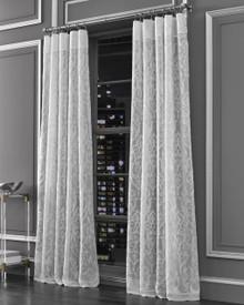 Medallion Silver Curtain Panel - 193842119600