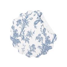Bleighton Blue Round Placemat Set - 8246303787