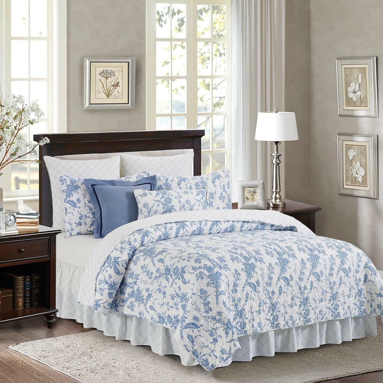 Bleighton Blue Euro Sham - 8246701453