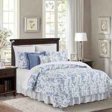 Bleighton Blue Bed Skirt - 8246701484