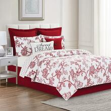 Arcadia Red Quilt Collection -