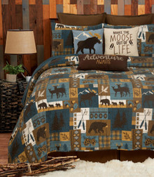 Timber Trails Sky Quilt Collection -