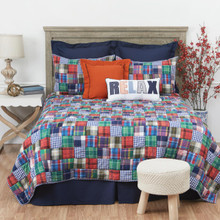 Madras Plaid Quilt Collection -