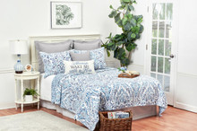 Natalia Damask Quilt Collection -
