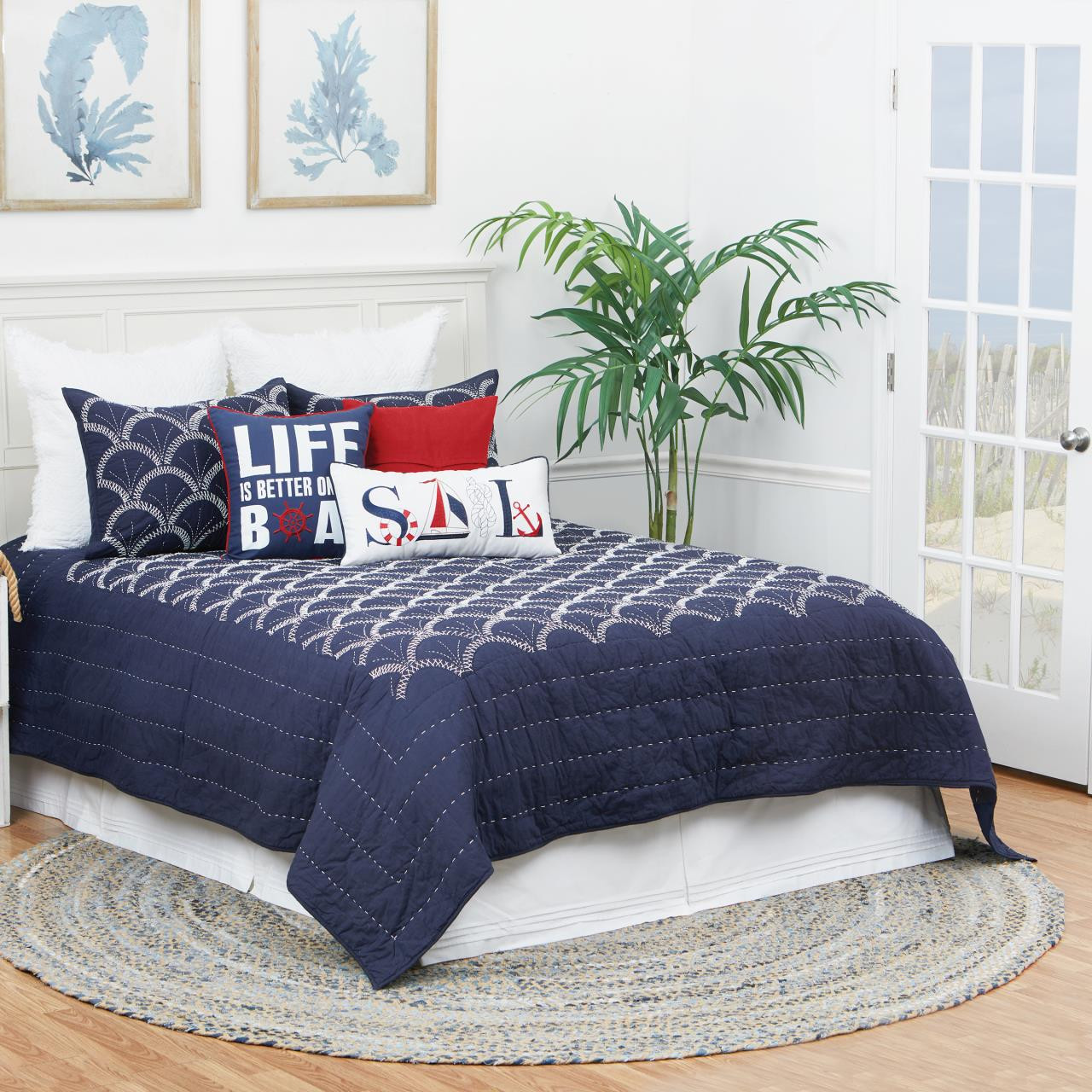 Scallop Quilt Collection -