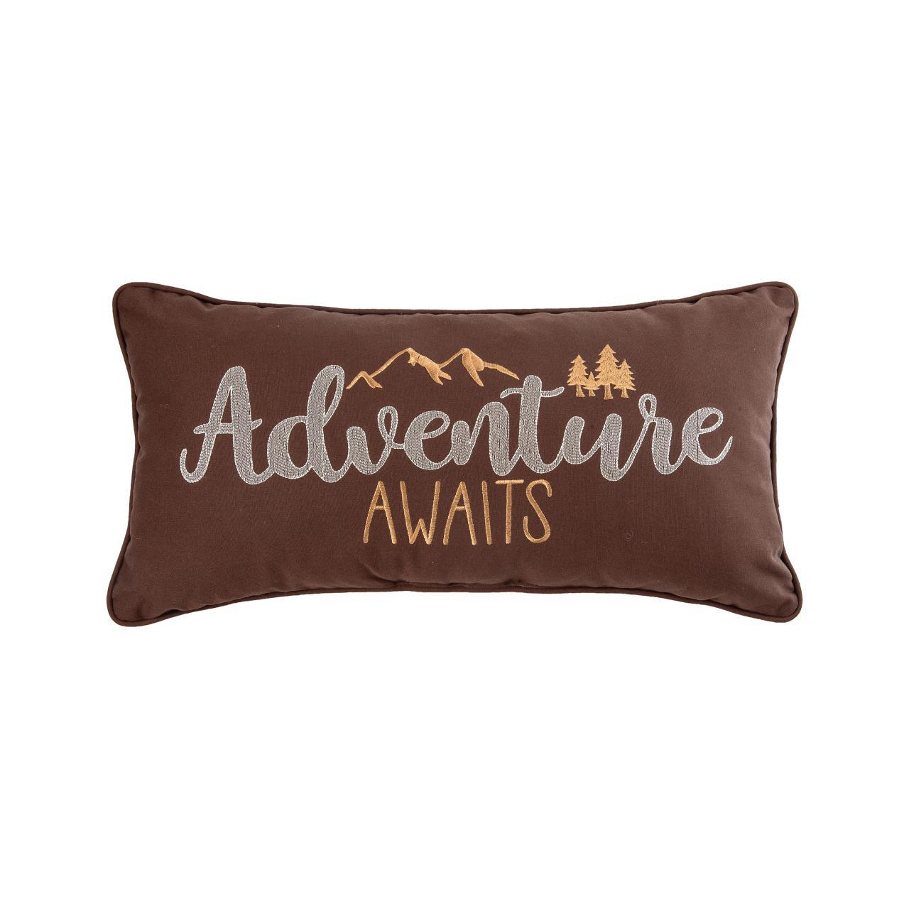 Adventure Awaits Pillow - 8246761761