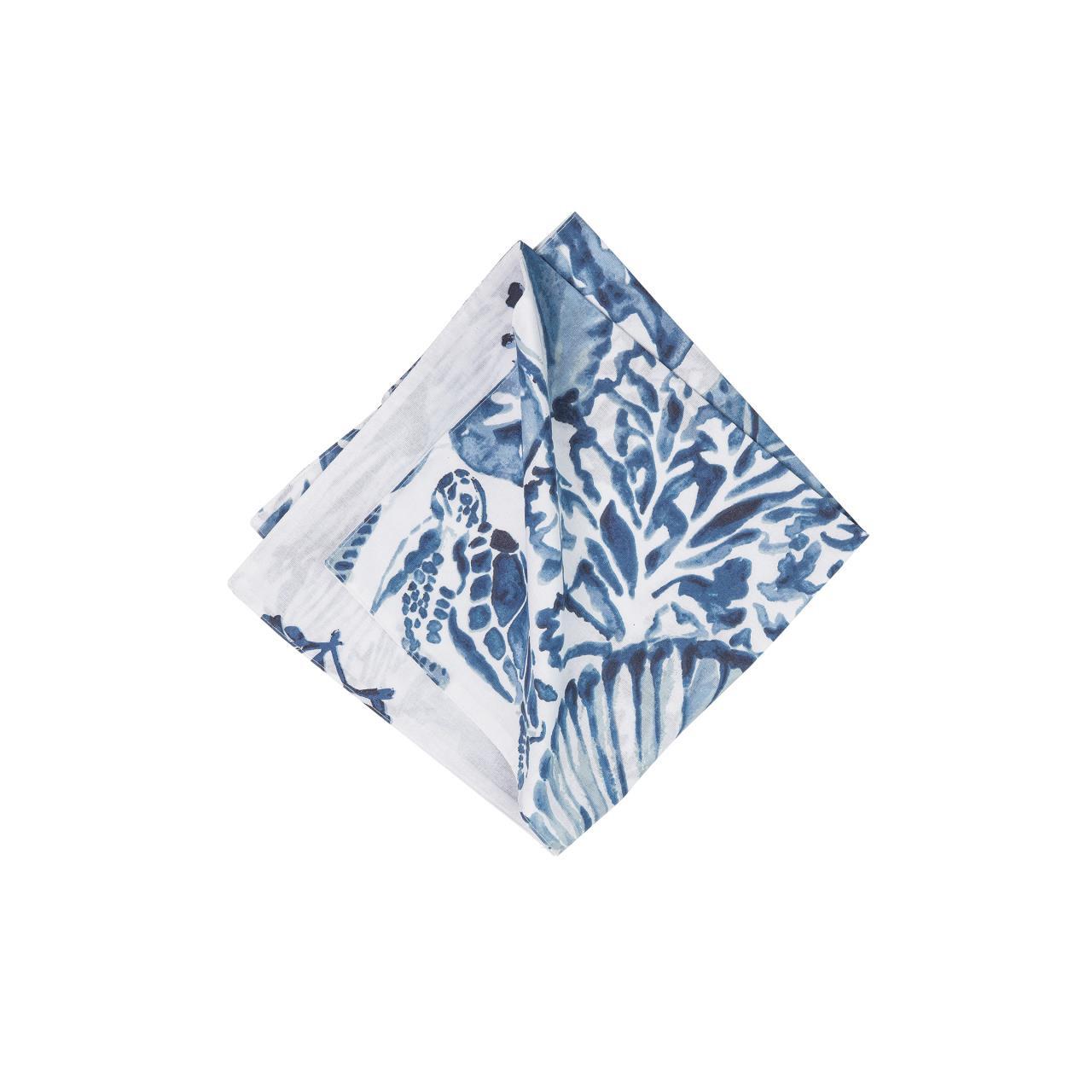 Blue Coast Shells Napkin Set - 8246776390