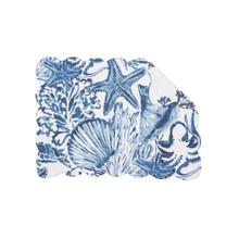 Blue Coast Shells Placemat Set - 8246776444