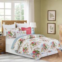 Cottage Rose Quilt Set - 8246700418