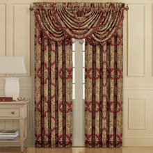 Maribella Crimson Curtains2 - 846339092374