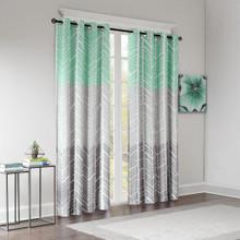 Adel Printed Grommet Blackout Curtain - 675716846169