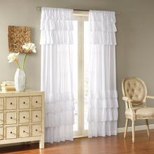 Anna Sheer Ruffle Curtain - 675716842758