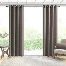 Pacifica Solid 3M Scothguard Grommet Outdoor Curtain - 675716760199