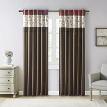 Serene Embroidered Curtain - 675716616113
