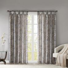 Yvette Paisley Faux Silk Curtain - 865690675934