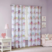 Wise Wendy Owl Grommet Blackout Curtain - 675716976699